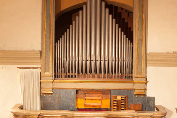 Francesco Bossi – Organ of the Church of San Michele Arcangelo – Roncole di Busseto – 1797
